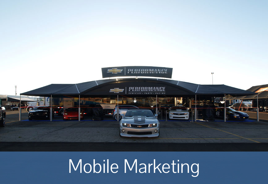 Mobile Marketing Canopy | Race Canopies