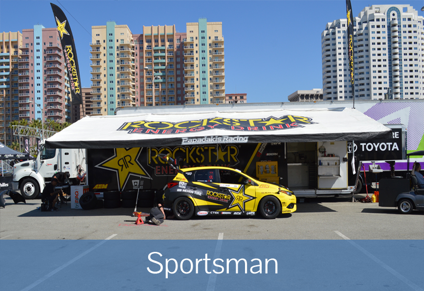 Sportsman Canopy | Race Canopies